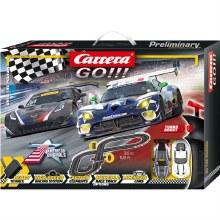 Go!!! Onto The Podium Slot Car Set - 62521