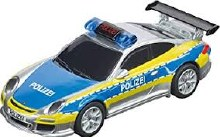 GO!!! Porsche 911 GT3 Polizei Slot Car - 64174