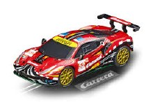 """GO!!! Ferrari 488 GT3 AF Corse """"Carrera"""", #52 Slot Car - 64179"""