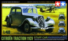 1:48 Scale Citreon Traction 11CV Staff Car - T32517