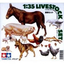 1:35 Scale Livestock Set - T35128