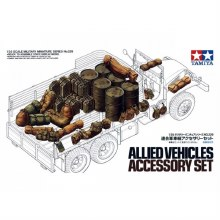 1:35 Scale Allied Vehicles Accessory Set - T35229