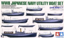 1:350 Scale Japanese Navy Utility Boat Set - T78026