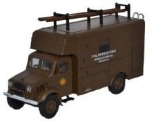 1:76 Scale Bedford OY Van Civil Defence - 76BD019