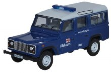 1:76 Scale Land Rover Defender Station Wagon RNLI - 76DEF014