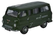 1:76 Scale Ford 400E Minibus British Railways - 76FDE002