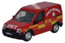 1:76 Scale Ford Transit Connect Cork City Fire Brigade - FTC003