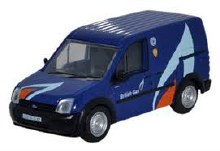1:76 Scale Ford Transit Connect British Gas - FTC004