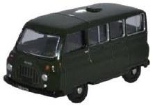 1:76 Scale Morris J2 Minibus British Army HQEC - JM022