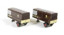 1:76 Scale GWR Two Piece Trailer Set - 76MH011T