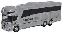 1:76 Scale Scania Horsebox Eddie Stobart - SCA03HB