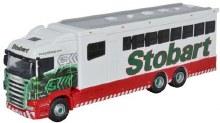 1:76 Scale Eddie Stobart Scania Highline Horsebox - SHL02HB