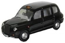 1:76 Scale TX Taxi Black - 76TX4001