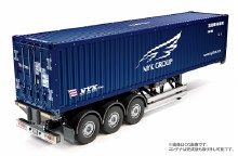 1:14 Scale 40-Foot Container Semi-Trailer (NYK) - T56330