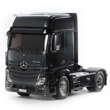 1:14 Scale Mercedes-Benz Actros 1851 GigaSpace (Black Edition) Assembly Kit - T56342