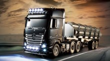 1:14 Scale MB Actros 3363 6x4 GigaSpace On-Road Assembly Kit - T56348