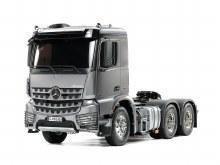 1:14 Scale Mercedes-Benz Arocs 3363 6x4 ClassicSpace (Light Gun Metal Edition) Assembly Kit - T56359