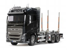 1:14 Scale Volvo FH16 Globetrotter 750 6x4 Timber Truck - T56360