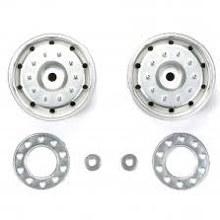 Metal-Plated Wheels (30mm Width/Hex Hub/Matte Finish) - T56519