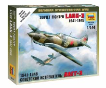 1:144 Scale Soviet Fighter LAGG-3 1941-1945 Snap Fit - ZV6118