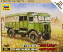 1:100 Scale British Truck Matador Snap Fit - ZV6175