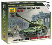 1:100 Scale Soviet Heavy Tank Joseph Stalin-2 Snap Fit - ZV6201