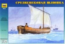 1:72 Scale Medieval Life Boat - ZV9033