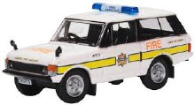 1:76 Scale Range Rover Classic London Fire Brigade - RCL004