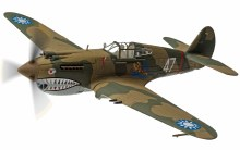 1:72 Scale Curtiss Hawk 81-A-2 P8127 'White 47' Robert 'R.T' Smith 3rd Sqn AVG 1942 - AA28104