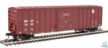 HO Scale 50' ACF Exterior-Post Boxcar Burlington Northern & Santa Fe #724943 - 910-2168