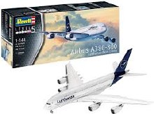 1:144 Scale Airbus A380-800 Lufthansa New Livery - 03872