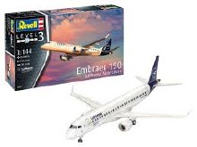 1:144 Scale Embraer 190 Lufthansa New Livery - 03883