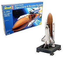 1:144 Scale Space Shuttle Discovery w/Booster Rockets - 04736