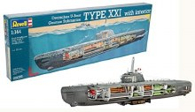 1:144 Scale U-Boat Type XXI - 05078