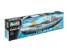 1:72 Scale German Submarine Type IXC/40 (U190) - 05133
