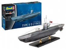 1:144 Scale German Submarine Type II B - 05155