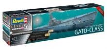 1:72 Scale US Navy Submarine GATO-CLASS - 05168