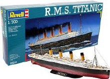 1:700 Scale RMS Titanic - 05210