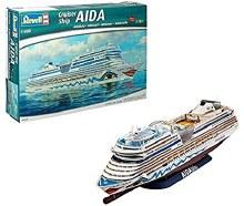 1:400 Scale Cruiser Ship AIDAblu - 05230