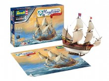 1:83 Scale Mayflower 1620-2020 400th Anniversary Model Set - 05684