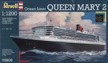 1:1200 Scale Queen Mary 2 - 05808