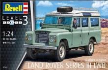 1:24 Land Rover Series III Plastic Model Kit - 07047