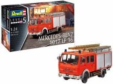 1:24 Scale Mercedes-Benz 1017 LF 16 Fire Truck - 07655
