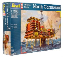 1:200 Scale North Cormorant Off Shore Oil Rig - 08803