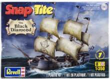 1:350 Scale The Black Diamond Pirate Ship Snap Tite Kit - 11971