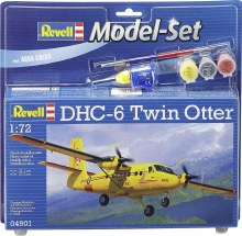 1:72 Scale DHC-6 Twin Otter Model Set - 64901