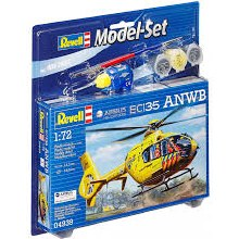 1:72 Scale EC135 ANWB Airbus Helicopters Model Set - 64939