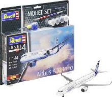 1:144 Scale Airbus A321 Neo Model Set - 64952
