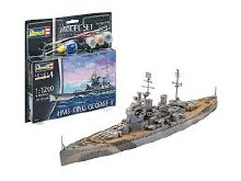 1:1200 Scale HMS King George V Set- 65161