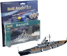 1:1200 Scale Bismarck Model Set - 65802